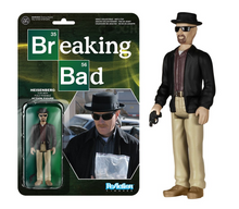 Funko ReAction Television Breaking Bad: Heisenberg Action Figure - Funko Closeout