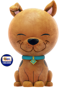 Funko Dorbz Animation Hanna Barbera: Flocked Scooby Doo Gemini Collectibles Exclusive Vinyl Figure