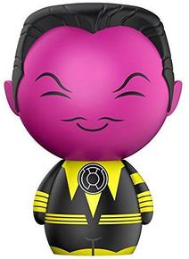 Funko Dorbz DC Comics Super Heroes: Sinestro Vinyl Figure