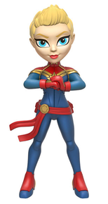 Funko Rock Candy Marvel: Captain Marvel Vinyl Figure