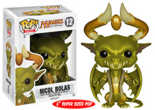 *Bulk* Funko POP! Games Magic The Gathering: Nicol Bolas 6 Inch Vinyl Figure - Case Of 12 Figures - Please Read Description