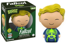 Funko Dorbz Games Fallout: Glow In The Dark Adamantium Skeleton Vinyl Figure - Specialty Series - Warehouse Blowout