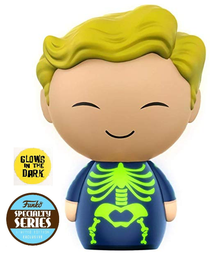 Funko Dorbz Games Fallout: Glow In The Dark Adamantium Skeleton Vinyl Figure - Specialty Series