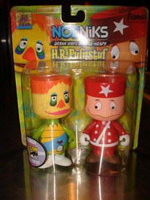 2009 SDCC Funko Nodnik: H.R. Pufnstuf & Red Cling Clang Bobblehead 2 Pack