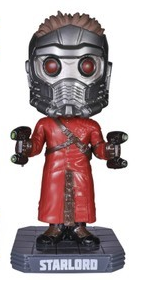 Funko Marvel Guardians Of The Galaxy: Star-Lord Wacky Wobbler Bobblehead