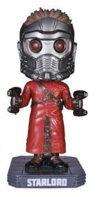 Funko Marvel Guardians Of The Galaxy: Star-Lord Wacky Wobbler Bobblehead