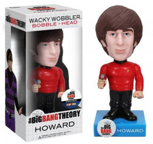 Funko Television The Big Bang Theory: Howard (Star Trek) Wacky Wobbler Bobblehead - Clearance