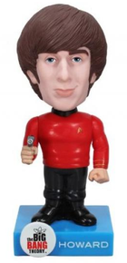 Funko Television The Big Bang Theory: Howard (Star Trek) Wacky Wobbler Bobblehead