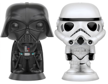 Funko POP! Home Star Wars: Darth Vader & Stormtrooper Ceramic Salt N Pepper Shaker Set - Clearance