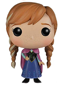*Bulk* Funko POP! Disney Frozen: Anna Vinyl Figure - Case Of 6 Figures
