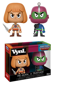Funko Vynl. Television Masters Of The Universe: He-Man & Trapjaw Vinyl Figure 2 Pack