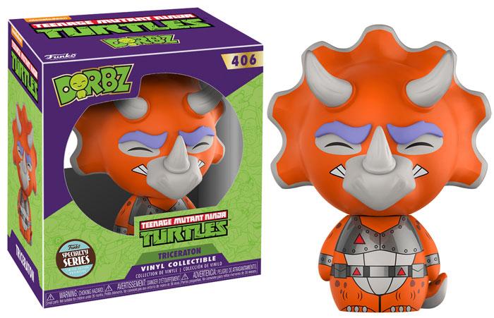 2b995915199 Funko Dorbz Television Teenage Mutant Ninja Turtles  Triceraton Vinyl  Figure - Specialty Series - Clearance. Price   5.99. Image 1