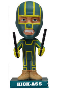 Funko Movies Kick Ass: Kick Ass Wacky Wobbler Bobblehead