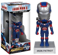 Funko Marvel Iron Man 3: Iron Patriot Wacky Wobbler Bobblehead - Warehouse Blowout