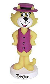 Funko Animation Hanna Barbera: Top Cat Wacky Wobbler Bobblehead