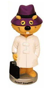 Funko Animation Hanna Barbera: Secret Squirrel Wacky Wobbler Bobblehead