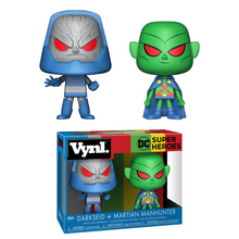 Funko Vynl. DC Comics: Darkseid & Martian Manhunter Vinyl Figure 2 Pack - Clearance