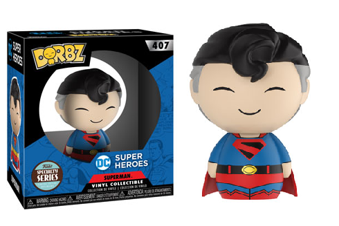 Funko DC Super Heroes Dorbz Superman Vinyl Figure NEW Toys Collectibles