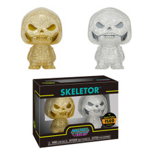 Funko Hikari XS Television Masters Of The Universe: Gold & Silver Skeletor Vinyl Figure 2 Pack - LE 1500pcs - Funko Closeout