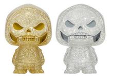 Funko Hikari XS Television Masters Of The Universe: Gold & Silver Skeletor Vinyl Figure 2 Pack - LE 1500pcs
