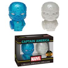 Funko Hikari XS Marvel: Blue & White Captain America Vinyl Figure 2 Pack - LE 500pcs