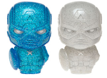 Funko Hikari XS Marvel: Blue & White Captain America Vinyl Figure 2 Pack - LE 500pcs