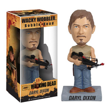 Funko Television The Walking Dead: Daryl Dixon Wacky Wobbler Bobblehead - Warehouse Blowout