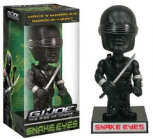 Funko Movies G.I. Joe - The Rise Of Cobra: Snake Eyes Wacky Wobbler Bobblehead - Funko Closeout