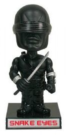 Funko Movies G.I. Joe - The Rise Of Cobra: Snake Eyes Wacky Wobbler Bobblehead
