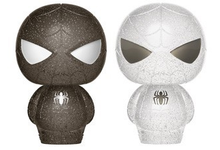 Funko Hikari XS Marvel: Black & White Spider-Man Vinyl Figure 2 Pack - LE 1000pcs