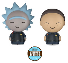 Funko Dorbz Animation Rick & Morty: Police Rick & Morty Vinyl Figure 2 Pack - Specialty Series