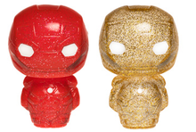 Funko Hikari XS Marvel: Red & Gold Iron Man Vinyl Figure 2 Pack - LE 750pcs