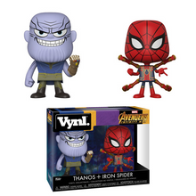 Funko Vynl. Marvel Avengers - Infinity War: Thanos & Iron Spider Vinyl Figure 2 Pack