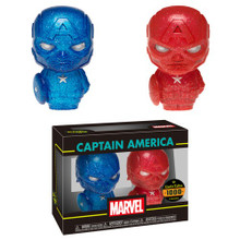 Funko Hikari XS Marvel: Red & Blue Captain America Vinyl Figure 2 Pack - LE 1000pcs