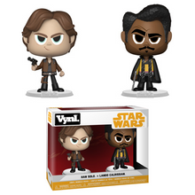 Funko Vynl. Solo - A Star Wars Story: Han Solo & Lando Calrissian Vinyl Figure 2 Pack - Clearance