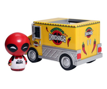 Funko Dorbz Ridez Marvel: Deadpool With Chimichanga Truck Vinyl Figure