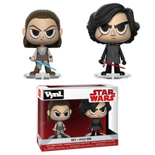 Funko Vynl. Star Wars The Force Awakens: Rey & Kylo Ren Vinyl Figure 2 Pack - Clearance
