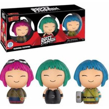 Funko Dorbz Movies Scott Pilgrim vs. The World: Ramona Flowers Funko Shop Exclusive Vinyl Figure 3 Pack - LE 2500pcs - Clearance
