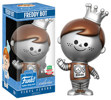 Funko Retro Freddy: Robot Freddy Funko Shop Exclusive Vinyl Figure - LE 4500pcs - Contest Winner Sticker - Clearance