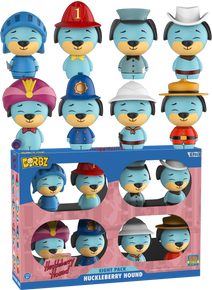 2017 SDCC Funko Dorbz Animation Hanna Barbera: Huckleberry Hound Exclusive Vinyl Figure 8 Pack - LE 1500pcs - 2017 San Diego Sticker - Closeout
