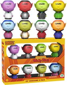 Funko Dorbz Animation Hanna Barbera Wacky Races: Lil' Gruesome Funko Shop Exclusive Vinyl Figure 8 Pack - LE 1500pcs - Clearance