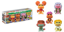 Funko POP! Television Fraggle Rock: Flocked Funko Shop Exclusive Vinyl Figure 5 Pack - LE 3000pcs - Limit Of 2 Sets - Clearance