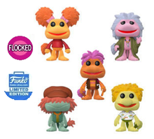 Funko POP! Television Fraggle Rock: Flocked Funko Shop Exclusive Vinyl Figure 5 Pack - LE 3000pcs - Limit Of 2 Sets
