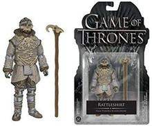 Funko Action Figure Game Of Thrones: Rattleshirt Fully Poseable Action Figure - Warehouse Blowout