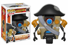 Funko POP! Games Borderlands: Emperor Claptrap Vinyl Figure - Funko Closeout
