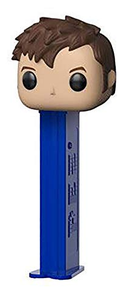 Funko POP! PEZ Television Doctor Who: Tenth Doctor Dispenser w/ Candy