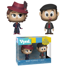 Funko Vynl. Disney Mary Poppins Returns: Mary Poppins & Jack The Lamplighter Vinyl Figure 2 Pack