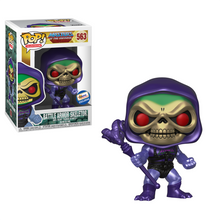 Funko POP! Television Masters Of The Universe: Metallic Battle Armor Skeletor Gemini Collectibles Exclusive Vinyl Figure -  Read Description