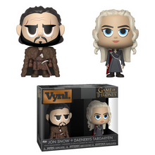 Funko Vynl. Television Game Of Thrones: Jon Snow & Daenerys Targaryen Vinyl Figure 2 Pack