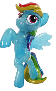 Funko Hikari My Little Pony: Original Glitter Rainbow Dash Vinyl Figure - LE 1000pcs